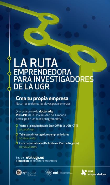 Imagen de portada de Ruta emprendedora para investigadores de la UGR