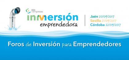 Imagen de portada de InMersión Emprendedora. Foros de Inversión para Emprendedores