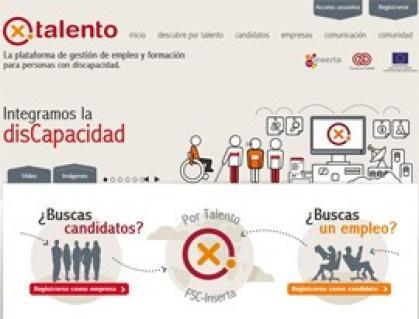 Imagen de portada de Nuevo portal de empleo y formación de Fundación ONCE para personas con discapacidad