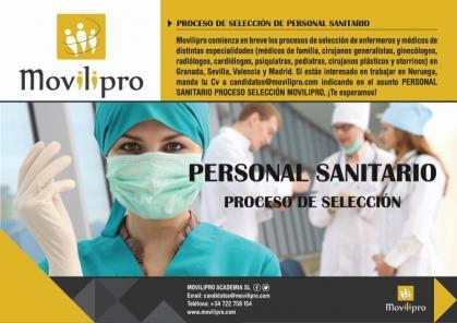 Imagen de portada de SHP NORGE cubre entre 200 y 250 plazas del sector sanitario, entre profesionales de enfermería y medicina especializada
