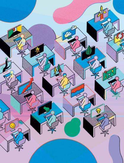 Imagen de portada de Hacía la conexión digital con arquitecturas comunicativas descentralizadas y modelos de negocio más responsables socialmente