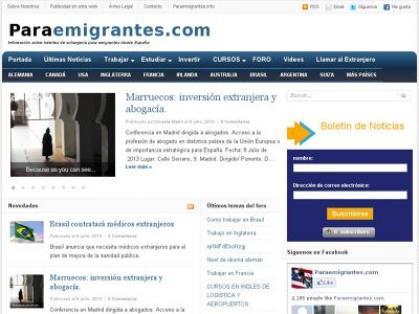 Imagen de portada de Información de toda índole para los nuevos emigrantes españoles