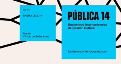 Imagen de portada de Pública 14, la cuarta edición con 60 actividades y experiencias de más de 20 países, con la participación de más de 600 profesionales