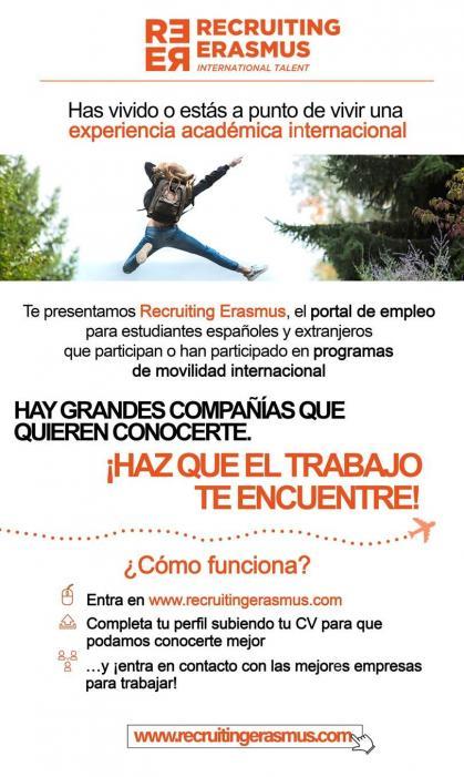 Imagen de portada de Recruiting Erasmus