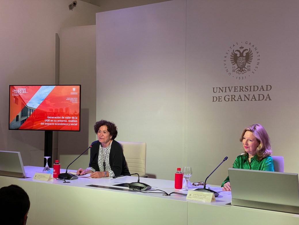 Imagen de portada de Cada euro de dinero público que recibe la UGR se multiplica por 7 y tiene un fuerte retorno económico para Andalucía y Granada