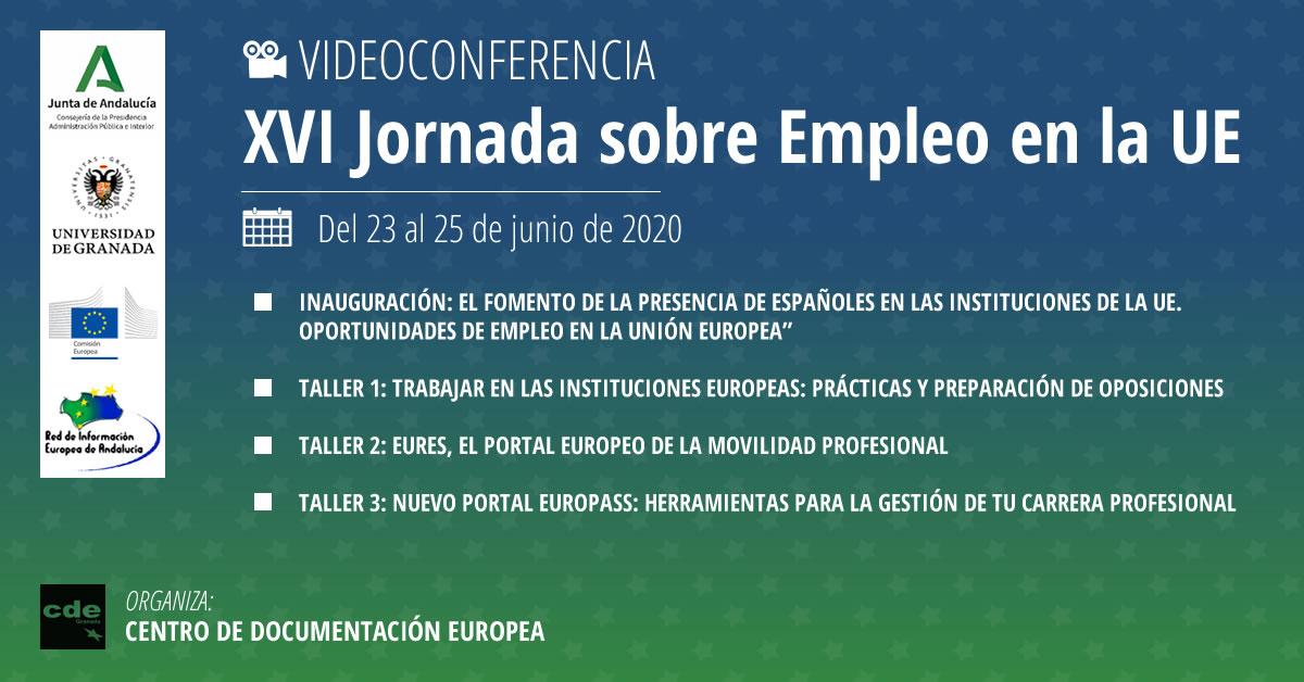 Imagen de portada de Oportunidades en las instituciones europeas, el portal de movilidad y las herramientas para la gestión de tu carrera profesional
