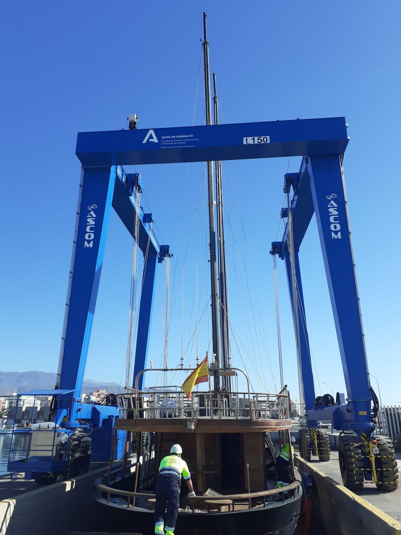 Imagen de portada de Puertos de Andalucía