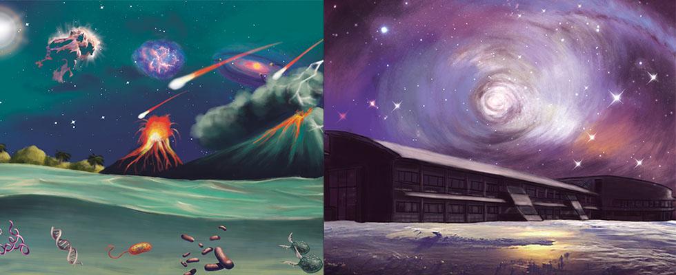 Imagen de portada de 10 campos científicos con contrato incluida la detección de vida fuera de la Tierra