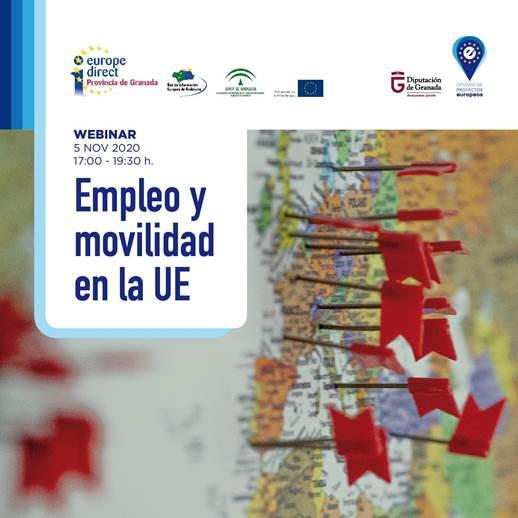 Imagen de portada de Webinar Empleo y Movilidad en Europa. 5 de noviembre. 17 a 19.30 horas