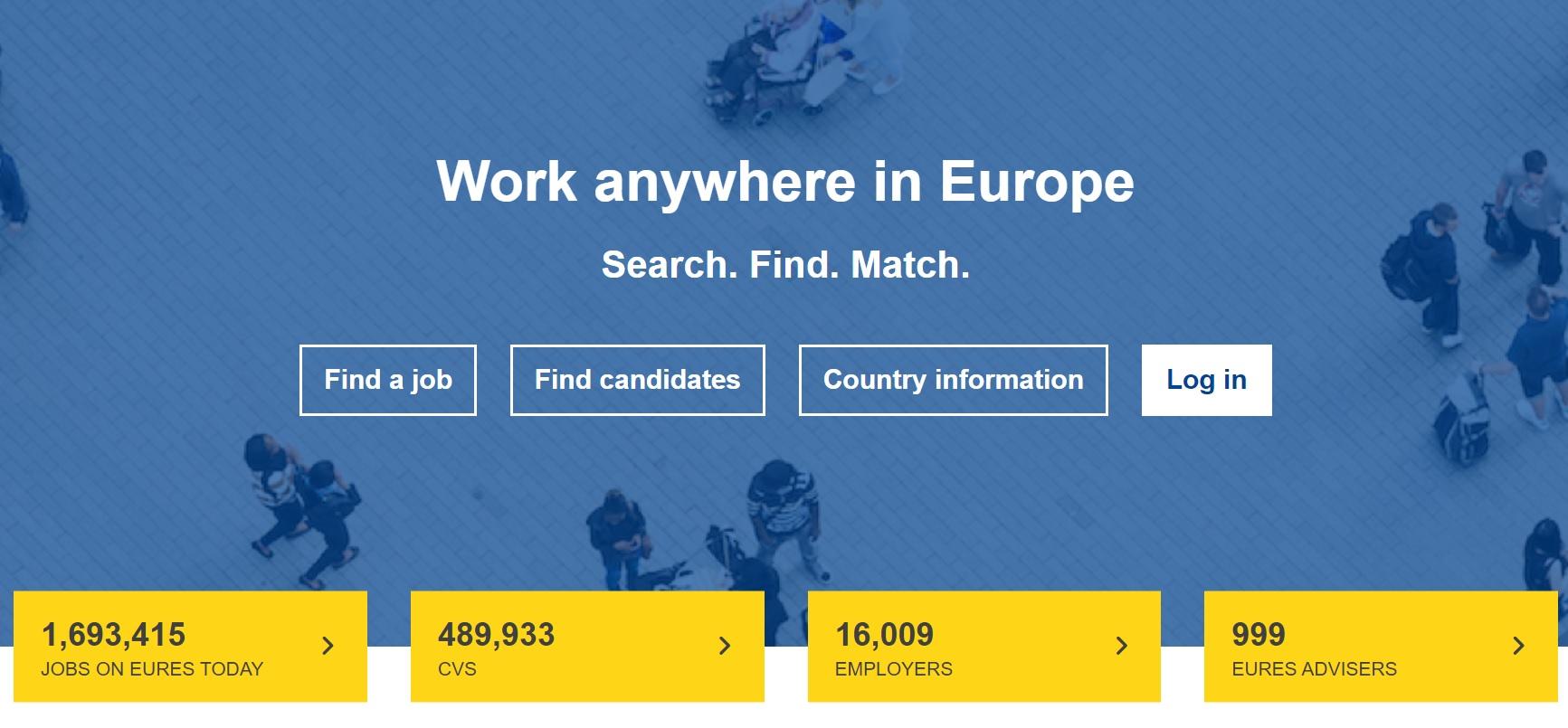 Imagen de portada de De qué modo EURES puede ayudarte a buscar trabajo en Europa