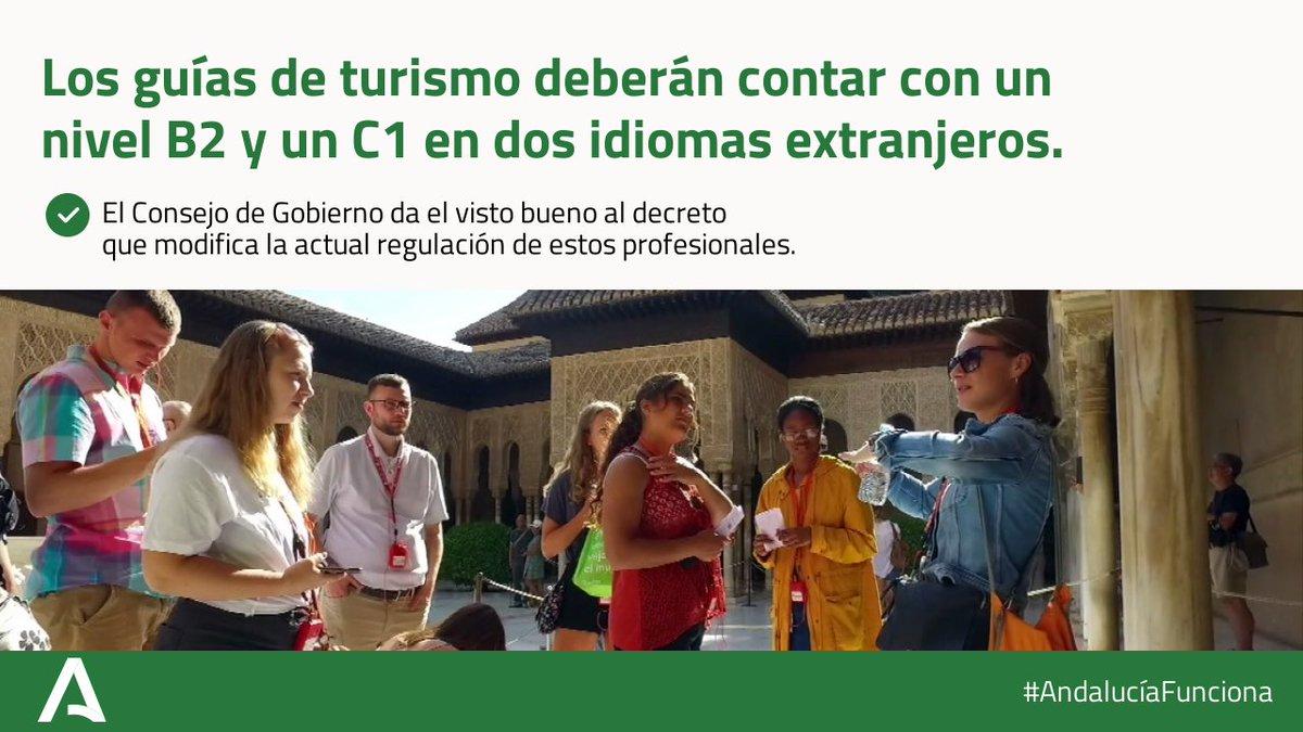 Imagen de portada de Interpretar y acompañar. Guías de turismo de Andalucía. Ahora con B2 y C1 en dos idiomas extranjeros
