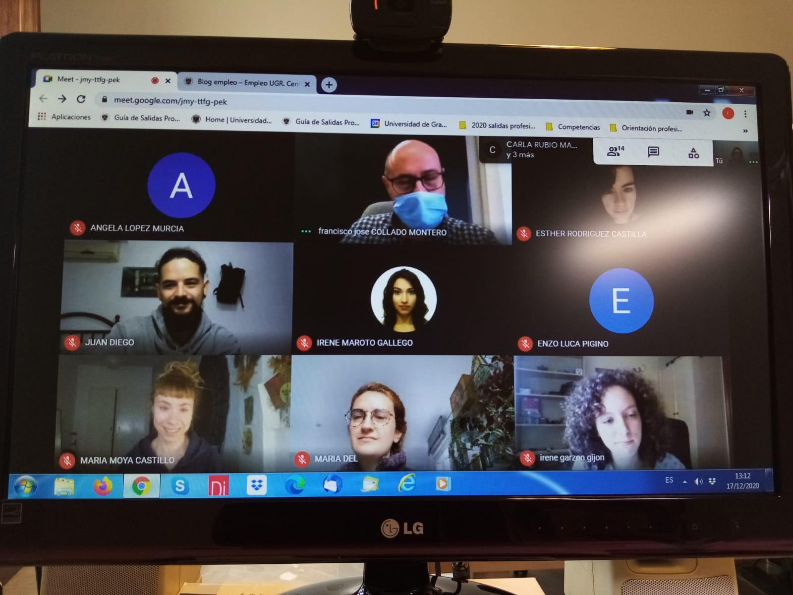 Imagen de portada de Las «Jornadas Profesionales en Conservación y Restauración de Bienes Culturales» se celebraron por videoconferencia