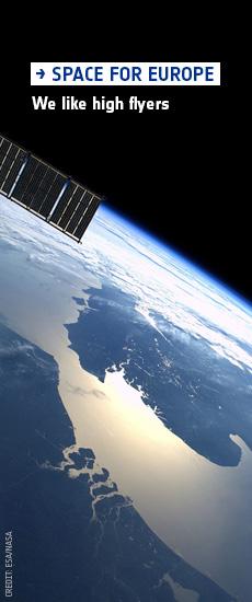 Imagen de portada de La puerta de Europa al espacio