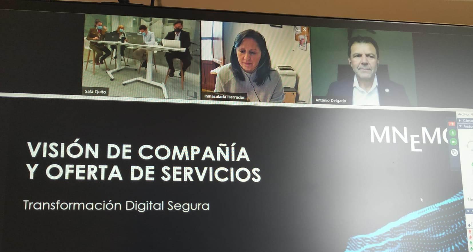 Imagen de portada de Una presentación de impacto. MNEMO, despierta el interés por la ciberseguridad