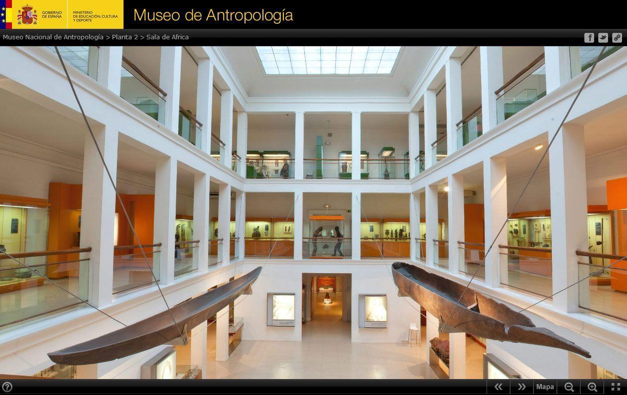 Imagen de portada de Antropología virtual
