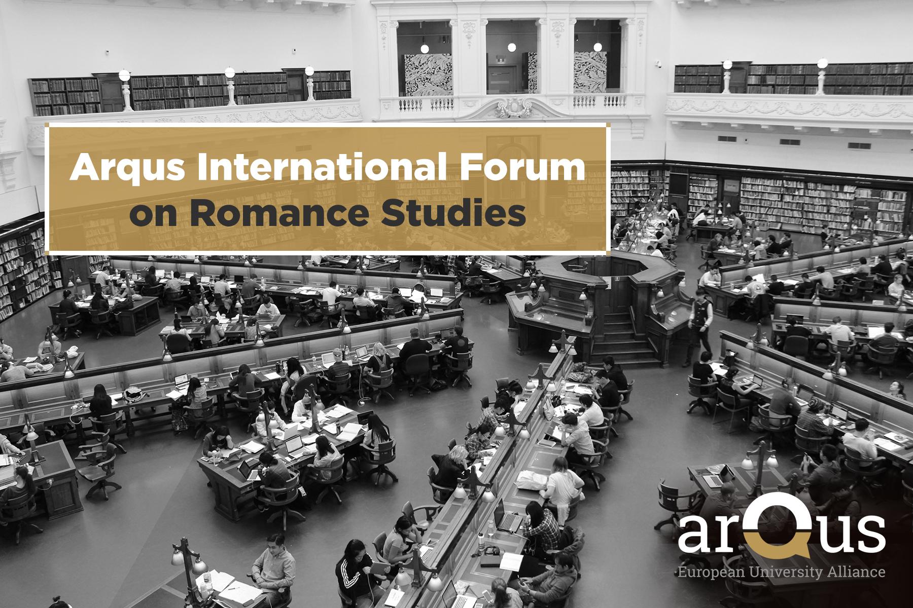 Imagen de portada de Arqus International Forum on Romance Studies. Congresos, proyectos, publicaciones