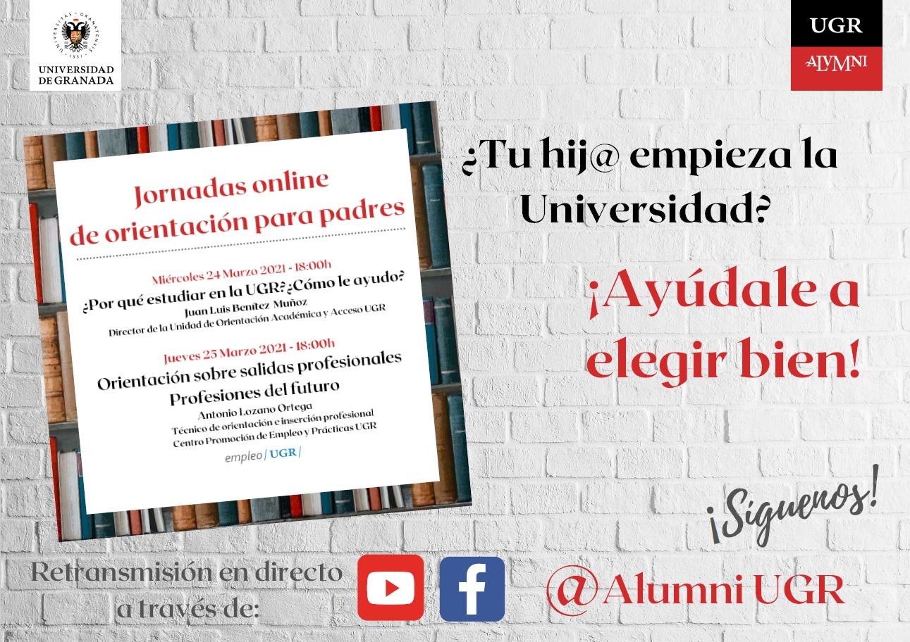 Imagen de portada de ¿Por qué estudiar en la UGR? ¿Cómo le ayudo?