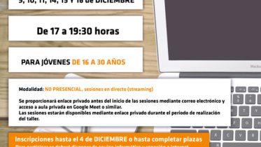Cartel Cursos Online web